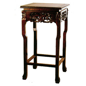 Marble Top Accent Table 8254CH-RD (ITM)