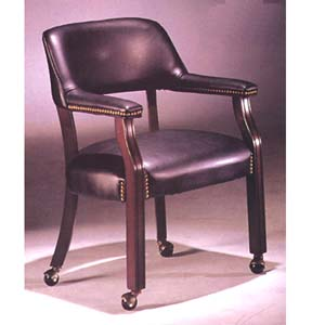 Captians Chair With Wheels 8917 (A)