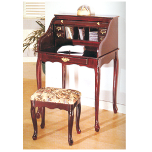 Roll Top Desk w/Bench 900-_2 (IDS)