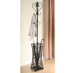 Coat Rack With Umbrella Stand 900817(CO)
