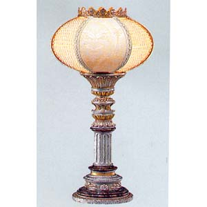 Table Lamp in Silver/Gold Finish 9132T (TOP)