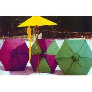 6Ã6 Rib Beach Umbrella 93312 (LB)
