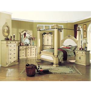 Bed Room Sets: Roman Empire Antique White Bedroom Set 9356 63 70 A ...