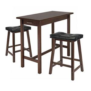 3-Pc Kitchen Island Breakfast Table Set 94304 (WSWFS)