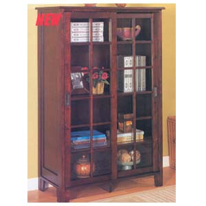 Cappuccino Finish Bookcase 950152 (CO)