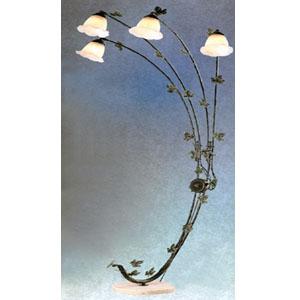 Floor Lamps Verdigris Finish Overhead Sofa Lamp 9662vd