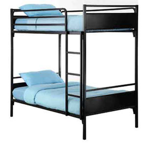 institutional bunk bed heavy duty dorm bunk bed b80 kb. Black Bedroom Furniture Sets. Home Design Ideas