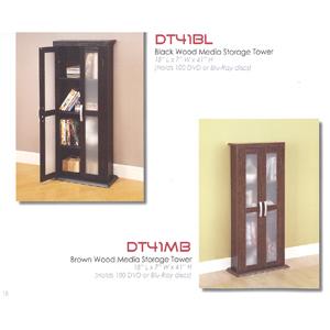 Wood Media Storage Tower DT41_(WE)