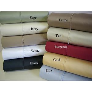 Solid Egyptian cotton Sheet Sets 550TC(RPT)