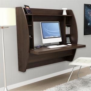 Floating Desk with Storage _EHW-0200-1 (PPFS)