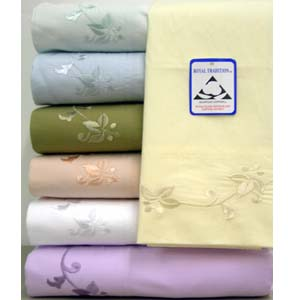 Embroidered Egyptian Cotton Sheets 210TC-EMB (RPT)