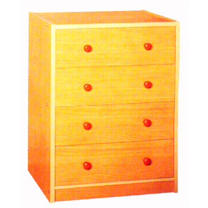 Chest Of Drawers F5006 (TMC)