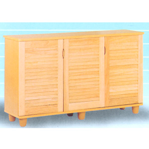 Shoe Cabinet With Louvers 442_(PJFS40)