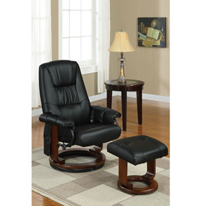 2-Pc Bonded Leather Massage Recliner Set F708_(PX)