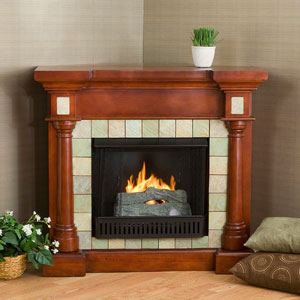 Gel Fuel Fireplaces Carrington Faux Slate Gel Fuel Fireplace