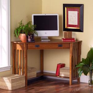 Mission Corner Desk HO6641 (SEIFS)