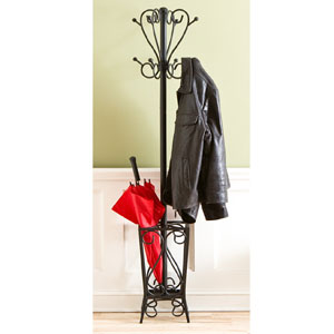 Scrolled Coat Rack With Umbrella Stand HP3192 (SEIFS)