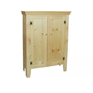 Solid Wood Unfinished Jelly Cupboard JEDGEL(JTCFS)