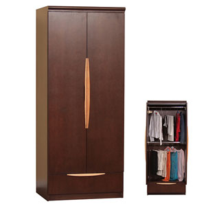 The George Wardrobe W Double Hanging Kg3301w B Gh