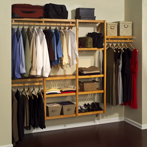 Louis Philip Standard Solid Wood Closet System 11051236(OFS)