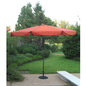 Aluminum 10-foot Patio Umbrella 11744065(OFS75)