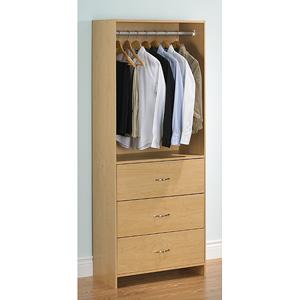 3-drawer Wardrobe Closet Tower ST103898G(OFS191)