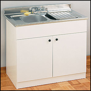 Sink & Wall Cabinets: 42 In Sink Metal Base PSM ...