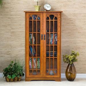 Window Pane Media Cabinet MS107_T (SEIFS)