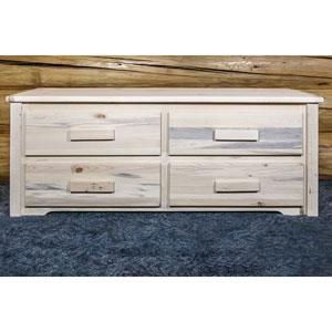 Solid Wood Homestead 4 Drawer Sitting Chest (WFFS)