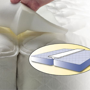 Sleep Innovations Bed Bridge M-BRG-45980-KG-WHT(AZFS)