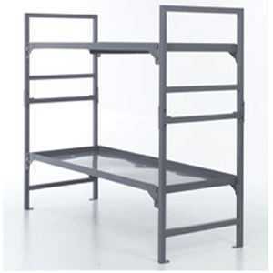 Institutional Bunk Bed Master Brute Super Heavy Duty Metal Beds Lp