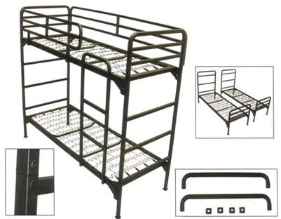 Institutional Bunk Bed Institutional Grade Metal Bunk Bed 4500 Abm