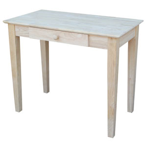 Unfinished Parawood Writing Desk OF-695249(WFFS)