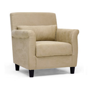 Marquis Tan Microfiber Club Chair 12667900(OFS198)