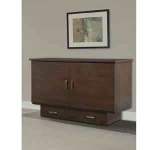 Twin Size Traditional Flip Top Cabinet ZzZ Bed 503-15-A(FUFS