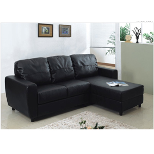 L Shaped Convertible Sofa Bed S305BK(PK)