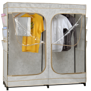 60 Inch Heavy Duty Portable Storage Closet   NationalFurnishing.com d20aed388