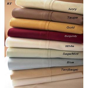 Soft Egyptian Cotton Percale Sheet Set  T300 (RPT)