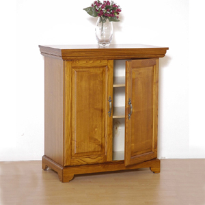 Exceptional Solid Wood Crown Molding Shoe Cabinet TZ110(GH)