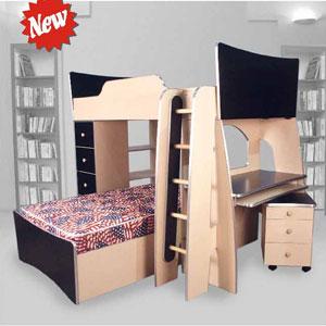 Custom Made Loft Bed System T-3(CT)