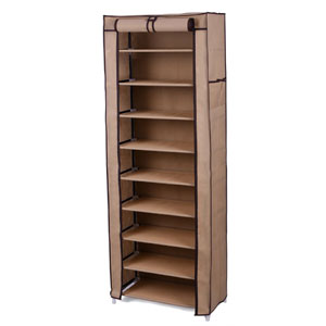 Shoe Rack Closet with Cover Shoe Storage Organizer ULSF008(A