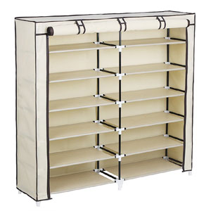 Portable Shoe Rack Closet with Fabric Cover URXJ12M(AZ)