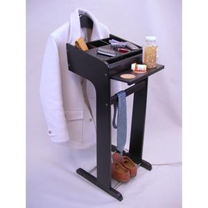 Surge Wardrobe Charging Valet  Black VL16198 (PM)
