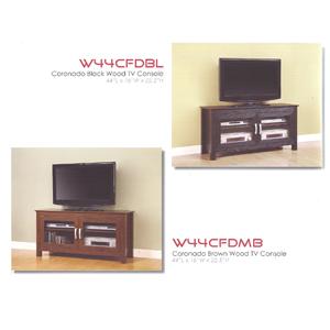 Coronado Wood TV Console W44CFD_(WE)