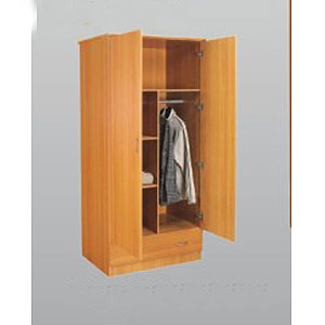 2 Door 1 Drawer Wardrobe WD 3106 (S&Y)