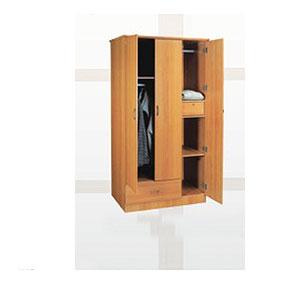 3 Door 1 Drawer Wardrobe WD-3107 (SY)