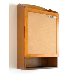 Organizer with Cork Message Board WM16542 (PMFS)