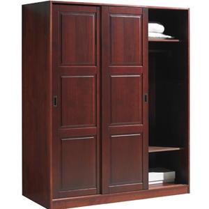Sliding Door Closet Wardrobe Solid Wood 3 Sliding Door