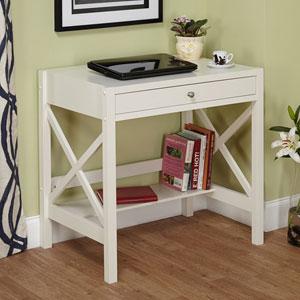 Antique White X Desk 1491146(OFS)