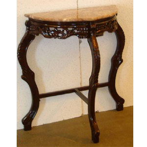 Small Half Moon Console Table A4841 (YL)